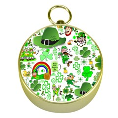 St Patrick s Day Collage Gold Compass