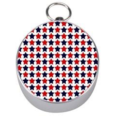 Patriot Stars Silver Compass