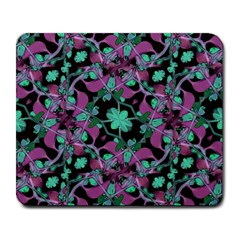 Floral Arabesque Pattern Large Mouse Pad (rectangle)