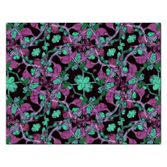 Floral Arabesque Pattern Jigsaw Puzzle (Rectangle)
