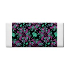 Floral Arabesque Pattern Hand Towel