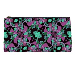 Floral Arabesque Pattern Pencil Case
