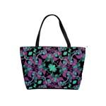 Floral Arabesque Pattern Large Shoulder Bag Front