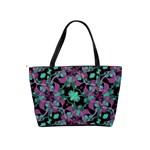 Floral Arabesque Pattern Large Shoulder Bag Back