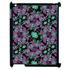 Floral Arabesque Pattern Apple Ipad 2 Case (black)