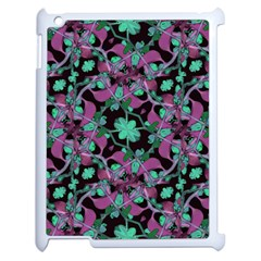 Floral Arabesque Pattern Apple Ipad 2 Case (white)