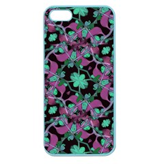 Floral Arabesque Pattern Apple Seamless Iphone 5 Case (color)