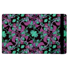 Floral Arabesque Pattern Apple iPad 3/4 Flip Case