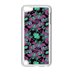 Floral Arabesque Pattern Apple iPod Touch 5 Case (White)