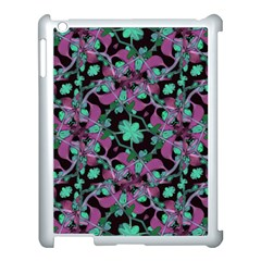 Floral Arabesque Pattern Apple Ipad 3/4 Case (white)