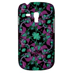 Floral Arabesque Pattern Samsung Galaxy S3 Mini I8190 Hardshell Case