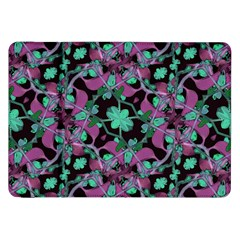 Floral Arabesque Pattern Samsung Galaxy Tab 8.9  P7300 Flip Case