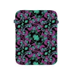 Floral Arabesque Pattern Apple iPad Protective Sleeve