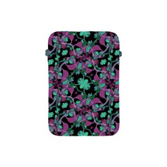 Floral Arabesque Pattern Apple iPad Mini Protective Sleeve