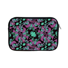 Floral Arabesque Pattern Apple Ipad Mini Zippered Sleeve