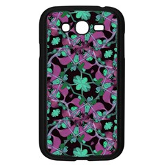 Floral Arabesque Pattern Samsung Galaxy Grand Duos I9082 Case (black)
