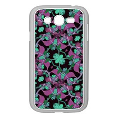 Floral Arabesque Pattern Samsung Galaxy Grand DUOS I9082 Case (White)