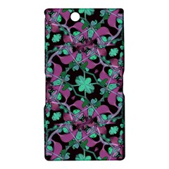 Floral Arabesque Pattern Sony Xperia Z Ultra (XL39H) Hardshell Case