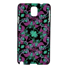 Floral Arabesque Pattern Samsung Galaxy Note 3 N9005 Hardshell Case