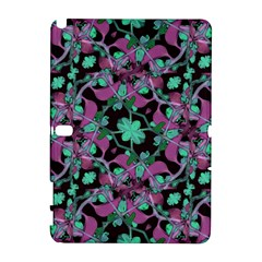 Floral Arabesque Pattern Samsung Galaxy Note 10.1 (P600) Hardshell Case