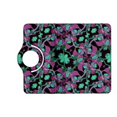 Floral Arabesque Pattern Kindle Fire HD 7  (2nd Gen) Flip 360 Case