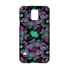 Floral Arabesque Pattern Samsung Galaxy S5 Hardshell Case