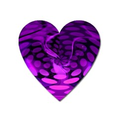 Abstract In Purple Magnet (Heart)