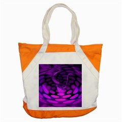 Abstract In Purple Accent Tote Bag