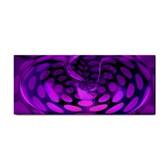 Abstract In Purple Hand Towel