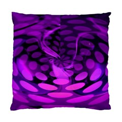 Abstract In Purple Cushion Case (Two Sided)
