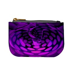 Abstract In Purple Coin Change Purse