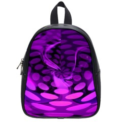 Abstract In Purple School Bag (small)