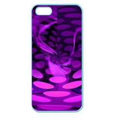 Abstract In Purple Apple Seamless Iphone 5 Case (color)