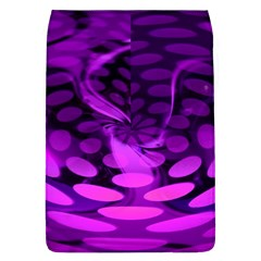 Abstract In Purple Removable Flap Cover (Large)