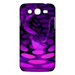 Abstract In Purple Samsung Galaxy Mega 5 8 I9152 Hardshell Case