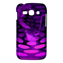 Abstract In Purple Samsung Galaxy Ace 3 S7272 Hardshell Case