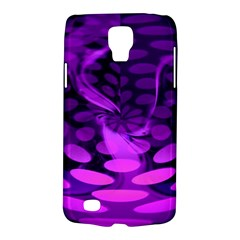 Abstract In Purple Samsung Galaxy S4 Active (i9295) Hardshell Case