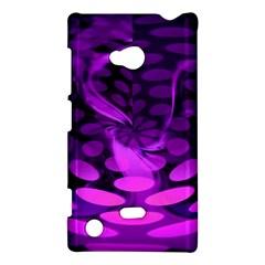 Abstract In Purple Nokia Lumia 720 Hardshell Case