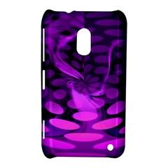 Abstract In Purple Nokia Lumia 620 Hardshell Case