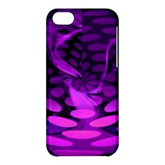 Abstract In Purple Apple iPhone 5C Hardshell Case