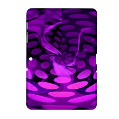Abstract In Purple Samsung Galaxy Tab 2 (10.1 ) P5100 Hardshell Case
