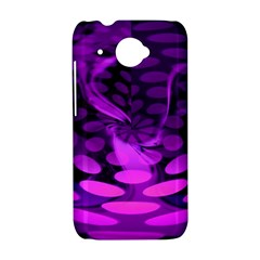 Abstract In Purple HTC Desire 601 Hardshell Case