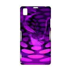 Abstract In Purple Sony Xperia Z1 L39H Hardshell Case