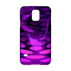 Abstract In Purple Samsung Galaxy S5 Hardshell Case