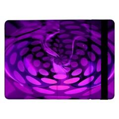 Abstract In Purple Samsung Galaxy Tab Pro 12.2  Flip Case