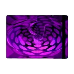 Abstract In Purple Apple iPad Mini 2 Flip Case