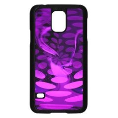 Abstract In Purple Samsung Galaxy S5 Case (Black)