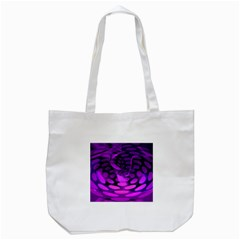 Abstract In Purple Tote Bag (White)