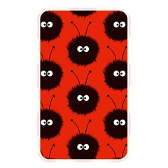 Red Cute Dazzled Bug Pattern Memory Card Reader (rectangular)