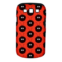 Red Cute Dazzled Bug Pattern Samsung Galaxy S Iii Classic Hardshell Case (pc+silicone)